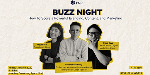 Buzz Night: How to Score a Powerful Branding, Cont