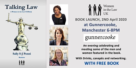 Talking Law Book Launch hosted by Gunnercooke Manchester with Free Book tickets