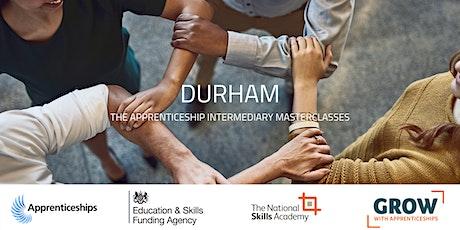 Apprenticeship Intermediary Masterclass: Durham tickets
