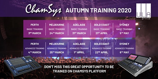 ChamSys Console Training - Gold Coast