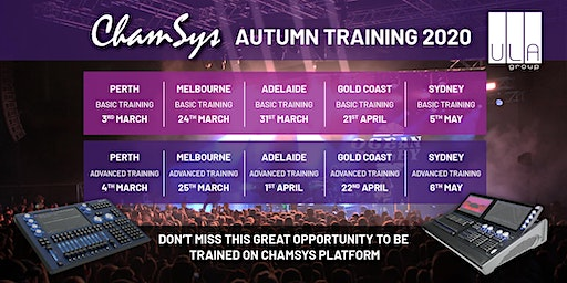 ChamSys Console Training - Adelaide