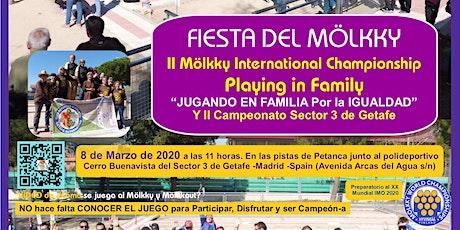 II Torneo de Mölkky - Playing in family entradas