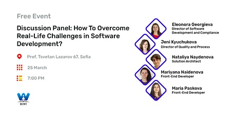 Discussion: How To Overcome Real-Life Challenges in Software Development? tickets