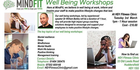 Well Being Workshops tickets