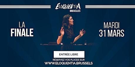 Eloquentia Bruxelles |  Finale billets