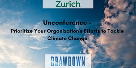 Virtual Unconference: Prioritize Your Organization's Efforts to Tackle Climate Change Tickets