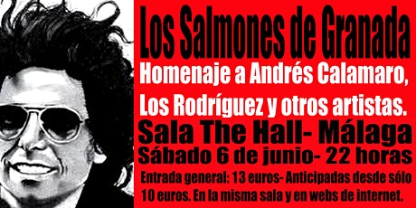Los Salmones en Málaga, Sala The Hall! tickets
