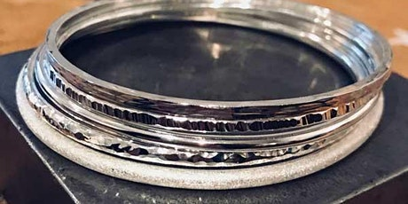 Make a Silver Bangle in a Professional Jewellery Studio - Sat 14th March tickets