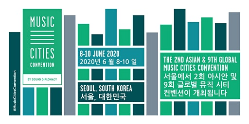 Music Cities Convention  - Seoul, South Korea 2020