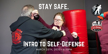 Intro to Self-Defense at Lift Bridge Brewing Company tickets