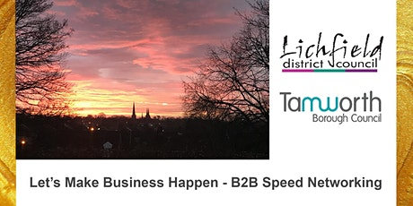 Let's Make Business Happen - B2B Speed Networking tickets