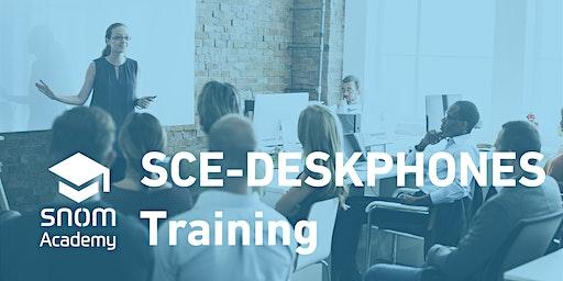 Snom SCE-Deskphones Training 2020, Mägenwil, CH