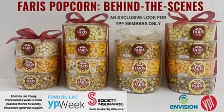 Behind the Scenes: Faris Gourmet Popcorn - New Date! tickets