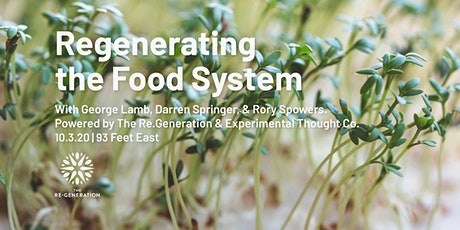 Regenerating Our Food Systems tickets