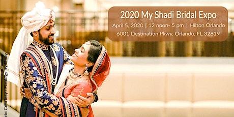 Orlando MyShadi Bridal Expo 2020 tickets