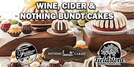 Wine, Cider & Bundt Cakes biglietti