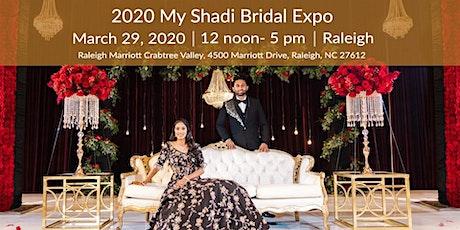 Raleigh MyShadi Bridal Expo 2020 tickets