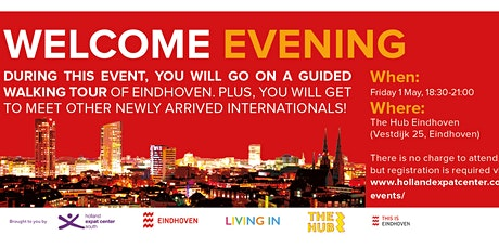 Welcome Evening for Internationals in Eindhoven: May 2020 tickets