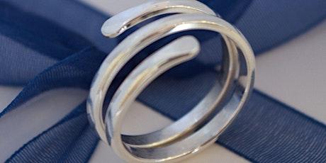 Silver Jewellery Making Crafternoon Tea Workshop: Wrap Around Ring tickets