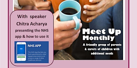 Meet Up Monday NHS App and how to use it with our Speaker: Chitra Acharya tickets