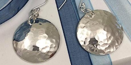 Silver Jewellery Making Crafternoon Tea Workshop: Silver Earrings tickets