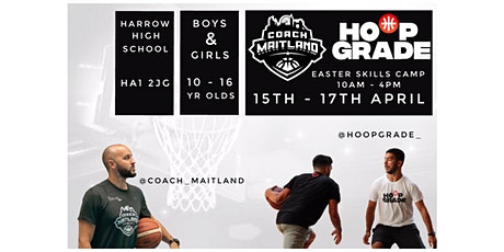 Easter Skills Camp with Coach Maitland & HoopGrade tickets