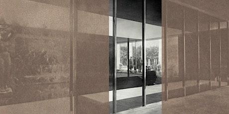 Inauguració intervenció artística al Pavelló Mies van der Rohe entradas