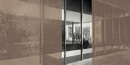 Inauguració intervenció artística al Pavelló Mies van der Rohe