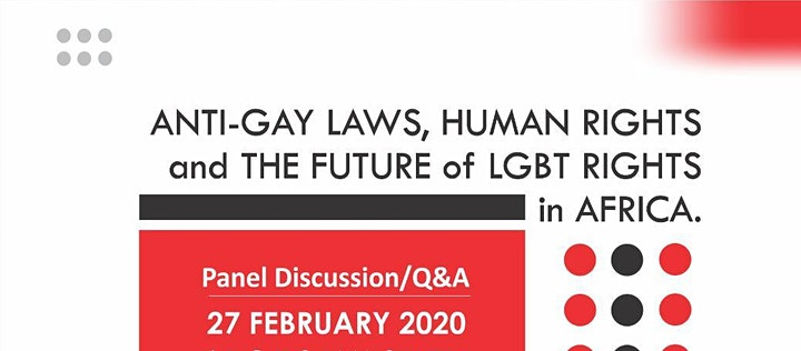 Q&A : ANTI-GAY LAWS, HUMAN RIGHTS and THE FUTURE OF LGBT RIGHTS IN AFRICA image