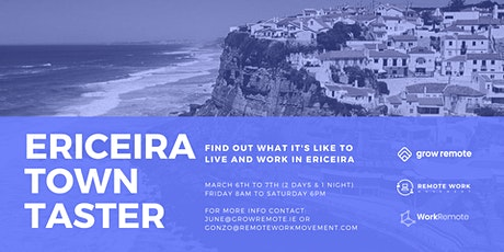 Grow Remote Town Taster: Ericeira Portugal tickets