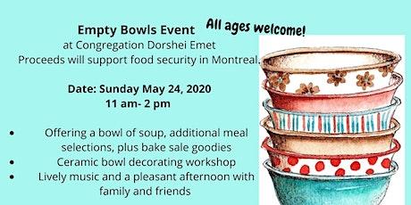 Empty Bowls Event at Congregation Dorshei Emet tickets