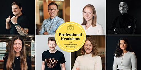 Professional Corporate Headshots at WeWork 12 Hammersmith Grove tickets