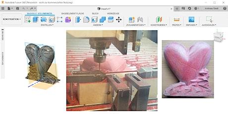 Mit Fusion 360 auf die Fräse: 2,5D Fräsen mit dem CAM-Modul Tickets