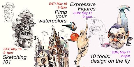 Wien : Urban Sketching Intensive weekend! Tickets