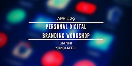 Personal Digital Branding Workshop biglietti