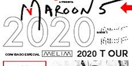 Show Maroon 5 ingressos