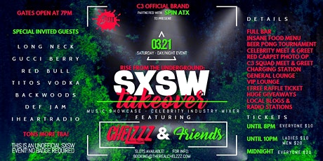 CHELZZZ & Friends! Showcase/Mixer - Long Neck&Gucci Berry *Slots Avail tickets