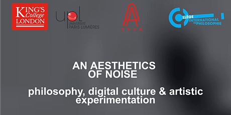 An Aesthetics of Noise - Open Access Seminar tickets
