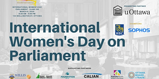 INTERNATIONAL WOMEN'S DAY ON PARLIAMENT