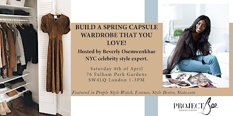 Spring Capsule Wardrobe Workshop & Shopping Event tickets