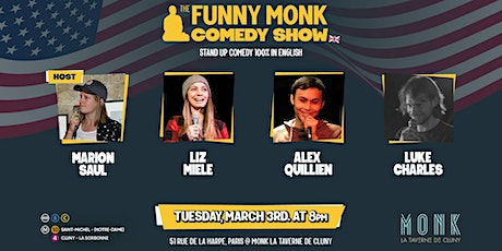Funny Monk Comedy Show #8 billets