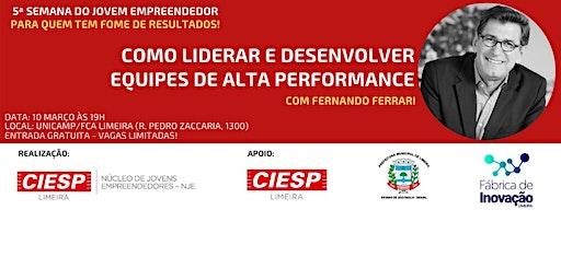 Palestra: Liderança e Equipes de Alta Performance