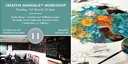 Creative Mandala™  Workshop in picturesque Studio | Relaxing | Mindful Art