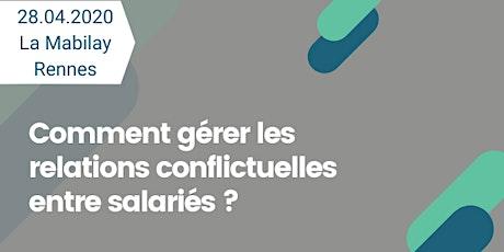 Comment gérer les relations conflictuelles entre salarié·e·s ? billets