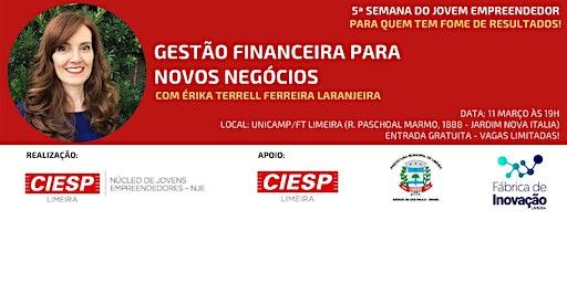 Palestra: Gestão Financeira para Novos Negócios