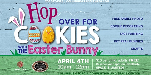 Cookies with the Easter Bunny