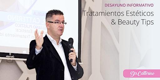 Tratamientos Estéticos & Beauty Tips con el Dr. Catterino