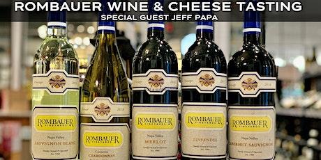 Rombauer Wine Tasting tickets