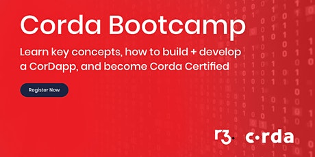 Corda Blockchain Bootcamp London tickets
