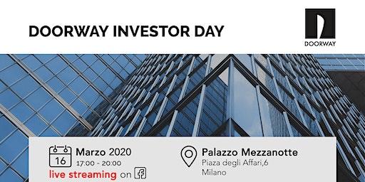 Doorway Investor Day Milano